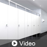 Sustainable and Contemporary Commercial Restroom Materials