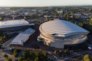 LEED v4.1 O+M Platinum Certification For NBA Arena